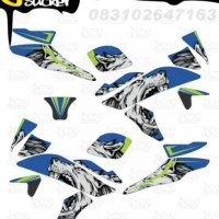 J14 Decal Sticker R15 Striping Wolf decal motor stiker