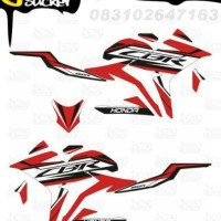 E12 Decal Sticker All New CBR150R Striping Techno Sporty decal motor s