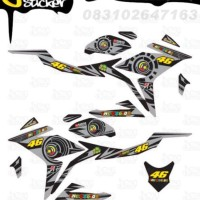 E8 Decal Sticker All New CBR150R Striping Sun Moon Rossi decal motor s