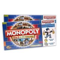 Mainan Monopoli 5 In 1 Play (Monopoli catur halma Ludo Ular Tangga)