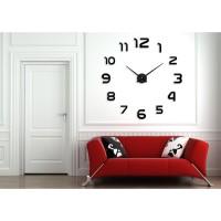 Jam Dinding Minimali Eropa Besar Raksasa DIY 80-130cm Diameter