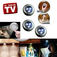 """""""Lampu Tempel Darurat Stick and Click Touch LED Lamp AAA"""""""