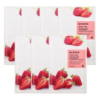 MIZON Joyful Essence Mask Sheet Strawberry Masker Wajah Original Korea
