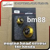 Engine Head Screw For Honda - CB CBR VERZA SUPRA VARIO - Tutup Magnet