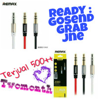 Remax aux 2m 3.5 cable audio jack | kabel headphone speaker smartphone