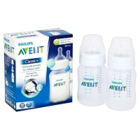 Philips Avent Botol Susu Classic Plus 260ml - Isi 2