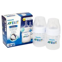 Philips Avent Botol Susu Classic Plus 125ml - Isi 2