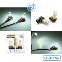 Foglamp H11 HPL 5 Sisi 7.5 Watt LED Terang Irit Listrik Putih