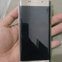 Samsung Galaxy S6 Edge ex inter Shadow 64gb Gold mulus n lengkap Ori