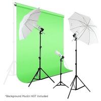 Paket Alat Foto Studio Photography Lightning Kit Set/Lampu Photo