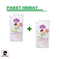 SLEEK Baby Cleanser Refill 900ml - 2 Pcs Pouch