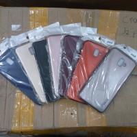 Case Samsung J6 Plus J6+ Soft Case Silikon Violet Samsung J6plus
