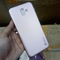 Case Samsung J6 Plus Samsung J6+ Soft Case Silikon Violet Rosegold