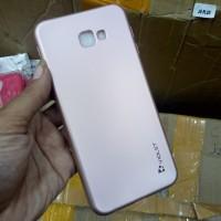 Case Samsung J4 Plus Samsung J4+ Soft Case Silikon Violet Rosegold