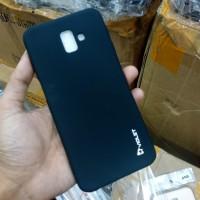 Case Samsung J6 Plus Samsung J6+ Soft Case Silikon Violet Hitam