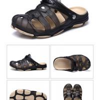 pinsv sepatu sandal casual pria