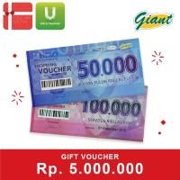 Voucher Giant Rp 5.000.000