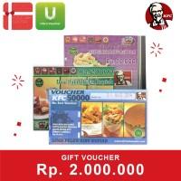 Voucher KFC Rp 2.000.000