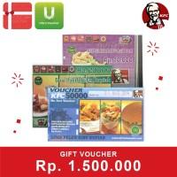 Voucher KFC Rp. 1,500,000