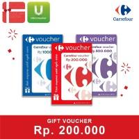 Voucher Carrefour Rp 200.000