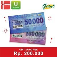 Voucher Giant Rp. 200,000