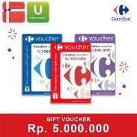 Voucher Carrefour Rp 5.000.000