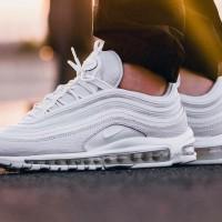 Sepatu Nike Airmax Undefeated 97 Sneaxskin Full White Sneakers Wanita