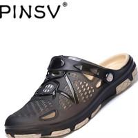 PINSV flats sepatu sandal pria kasual