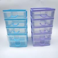 Laci Susun 5 Kecil Laci Mini Mini Container Laci Plastik