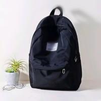 discount besar tas sekolah/Tas Ransel Pria,Warna Hitam Kombinasi.