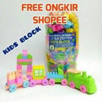 [MAINAN ANAKSHOP] (1KG) Lego Kids / Mr Block Bongkar Pasang Edukasi Bl