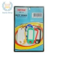 Gantungan Kunci Key Ring JOYKO KR-6 ( isi 6pcs )