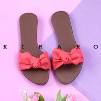 KIRARO Sandal Sendal Sandal Wanita Pita Lucu Santai Murah KSDR01