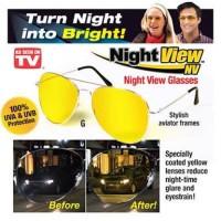 """Night View Glasses Vision Kacamata Anti Silau Pusing di Malam Hari"""""""