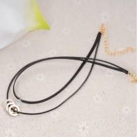 Kalung Korea Fashion Choker Multilayer Necklace 033B3Ar