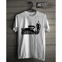Kaos/T-shirt Fast And Furious 8 Dominic Toretto Siluet