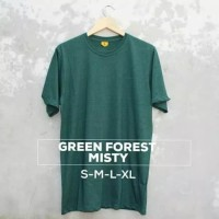 T-Shirt Polos Green Forest Misty