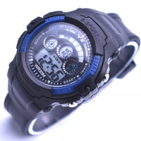 Jam tangan anak laki-laki Sport digital - Hitam