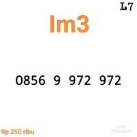 Nomor Cantik IM3 11 digit 0856 9 972 972 seri double ABC rapi #L10