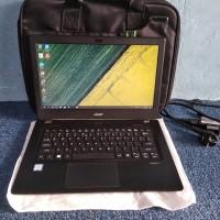 Laptop acer v3 372 core i5 6200u ram 4gb generasi baru mulus slim