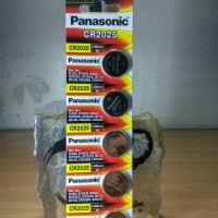 Baterai Panasonic CR2025 (5Pcs)