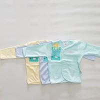 libby tangan panjang warna S M L 3pcs baju bayi kaos bayi