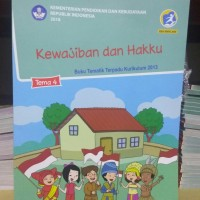 "Tematik Kelas 3 SD Tema 4 ""Kewajiban dan Hakku"" Revisi 2018 Diknas"