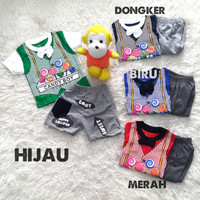 import Mr Lucky Baju Setelan Anak Bayi Laki