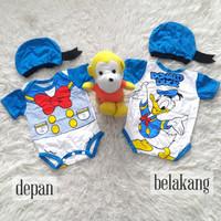 Sale Jumper Bayi Karakter Donald Bebek Kostum Bayi Set
