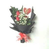 hand bouquet   buket bunga   bucket wisuda   bunga mawar asli
