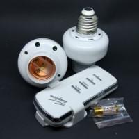Fitting Lampu dengan Remote Control.....1 Remote 2 fittings