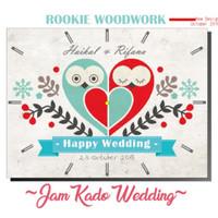 jam kado wedding model OWL - 01