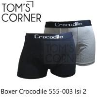 BOXER CROCODILE 555-003 | BOXER PRIA | CELANA DALAM PRIA |ISI 2