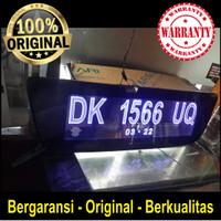Cover Bundling Plat Nomor Grafir LED Acrylic